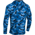 Under Armour Men's Storm Rival Fleece Printed Hoody - Blue: Image 2