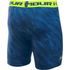 Under Armour Men's HeatGear Armour Printed Compression Shorts - Blue/Yellow: Image 2