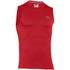 Under Armour Men's Tech Sleeveless T-Shirt - Red: Image 1