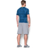Under Armour Men's HeatGear Armour Printed Short Sleeve Compression Shirt - Blue/Yellow: Image 5
