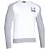 Under Armour Men's Tri-Blend Fleece Crew Sweatshirt - White: Image 1