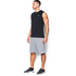 Under Armour Men's Tech Sleeveless T-Shirt - Black: Image 4
