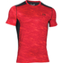 Under Armour Men's Raid Short Sleeve T-Shirt - Red/Black: Image 1