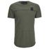 4Bidden Men's Longline Aim T-Shirt - Khaki: Image 1
