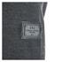 Smith & Jones Men's Palazzo Zip Through Hoody - Black Marl: Image 3