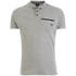 Smith & Jones Men's Mascaron Zip Pocket Polo Shirt - Mid Grey Marl: Image 1