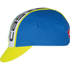 Castelli Meta Cycling Cap - Blue/White: Image 1