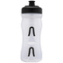 Fabric Cageless Water Bottle (600ml) - Clear/Black: Image 2