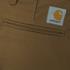 Carhartt Men's Sid Slim Leg Chinos - Leather Rinsed: Image 3