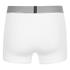 Calvin Klein Men's Iron Strength Cotton Trunk Boxers - White: Image 2