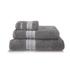 Calvin Klein Riviera Towel Range - Charcoal: Image 1