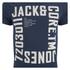 Jack & Jones Men's Core Wall T-Shirt - Navy Blazer: Image 3