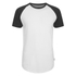 Jack & Jones Men's Originals Stan Raglan Sleeve T-Shirt - Black/White: Image 1