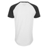 Jack & Jones Men's Originals Stan Raglan Sleeve T-Shirt - Black/White: Image 2