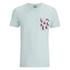 Jack & Jones Men's Originals Bobby Pocket Print T-Shirt - Surf Spray: Image 1
