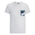 Jack & Jones Men's Originals Bobby Pocket Print T-Shirt - White: Image 1
