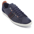 PS by Paul Smith Men's Osmo Leather Low Top Trainers - Galaxy Mono Lux: Image 2
