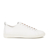 PS by Paul Smith Men's Miyata Leather Trainers - White Seta Calf: Image 1