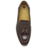 H Shoes by Hudson Men's Pierre Croc Leather Tassle Loafers - Brown: Image 3