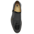 H Shoes by Hudson Mens Baldwin Hi Shine Leather Monk Shoes – Black: Image 3