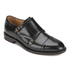 H Shoes by Hudson Mens Baldwin Hi Shine Leather Monk Shoes – Black: Image 2