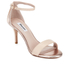 Dune Women's Mariee Leather Barely There Heeled Sandals - Rose Gold: Image 2