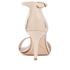 Dune Women's Mariee Leather Barely There Heeled Sandals - Rose Gold: Image 3