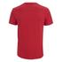 Soul Cal Men's Cracked Print T-Shirt - Ribbon Red: Image 2
