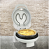 SMART Rotating Stone and Grill Pizza Oven - White: Image 1