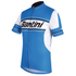 Santini Tau Short Sleeve Jersey - Blue: Image 1