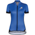 Santini Gold Women's Aero Short Sleeve Jersey - Blue: Image 1