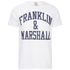 Franklin & Marshall Men's Large Logo T-Shirt - White: Image 1