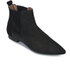 H Shoes by Hudson Women's Reine Pointed Suede Ankle Boots - Black: Image 2