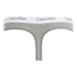 Calvin Klein Women's CK One Logo Thong - Grey Heather: Image 2