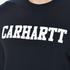 Carhartt Men's College Sweatshirt - Navy/White: Image 5