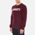 Carhartt Men's College Sweatshirt - Chianti/White: Image 2
