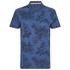 Threadbare Men's Hanoi Floral Print T-Shirt - Denim: Image 1