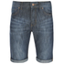 Threadbare Men's Denim Shorts - Dark Wash: Image 1