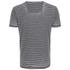 Threadbare Men's Helsinki Burnout Stripe T-Shirt - Grey: Image 2