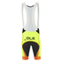 Alé PRR Bermuda Bib Shorts - Yellow/Orange: Image 2
