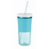 Contigo Shake & Go Tumbler with Straw (540ml) - Ocean: Image 1