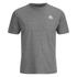 Kappa Men's Nico 2 Pack T-Shirts - Mid Grey Marl: Image 2