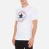 Converse Men's All Star Core Chuck Patch T-Shirt - White: Image 2