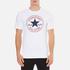 Converse Men's All Star Core Chuck Patch T-Shirt - White: Image 1