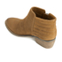 Dune Women's Petrie Suede Ankle Boots - Tan: Image 4