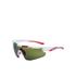 Salice 012 ITA Sports Sunglasses - White/Infrared: Image 1