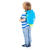 Trunki PaddlePak Tang the Tropical Fish Backpack - Medium - Blue: Image 4