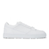 ETQ. Men's Low Top 3 Leather Trainers - White: Image 1