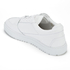 ETQ. Men's Low Top 3 Leather Trainers - White: Image 4