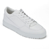ETQ. Men's Low Top 3 Leather Trainers - White: Image 2